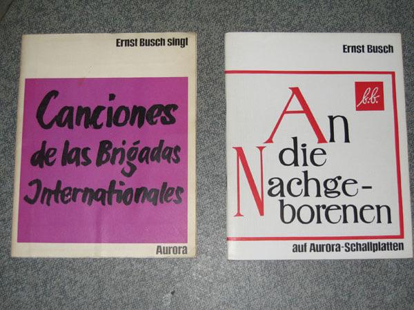 Zwei seltene Hefte aus Buschs Aurora-Reihe