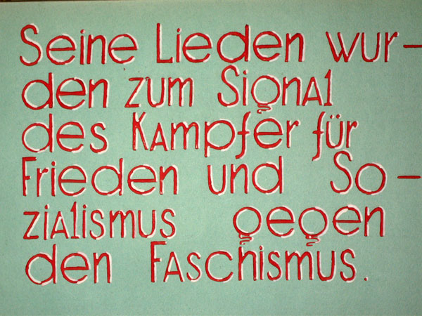 Schüler-Album für Ernst Busch (Seite 3)