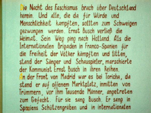 Schüler-Album für Ernst Busch (Seite 5)