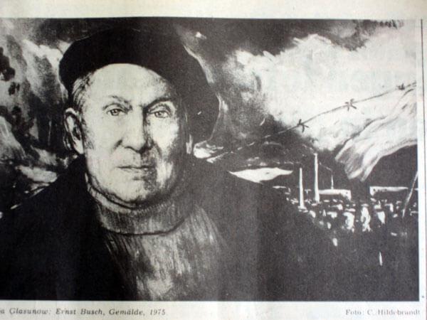 Ilja Glasunow: Ernst Busch (1975)