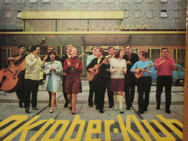 Cover-Foto der ersten Oktoberklub-Platte (Amiga 8 50 097)