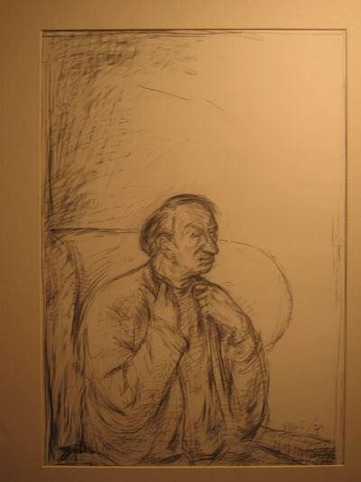 Studie Ernst Busch 3 (Ronald Paris)