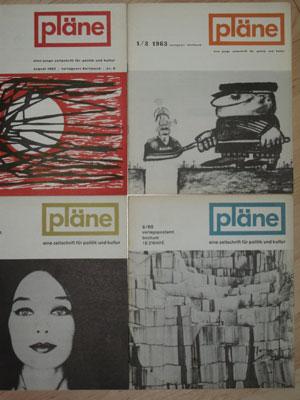 4 Pläne-Hefte
