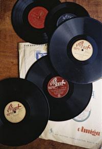 Diverse Ernst Busch-Schallplatten