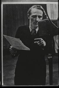 Ernst Busch bei Radio Moskau, 1936 (Archiv Karl Siebig)