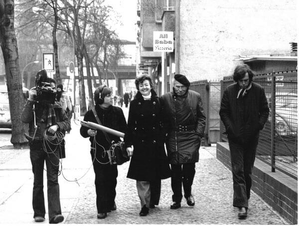 Dreharbeiten zu ''Ich bin kein Herr'' in West-Berlin (2)