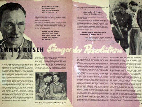 """Artikel von Berta Waterstradt in der Pionier-Zeitschrift """"Schulpost"""" (1956)"""