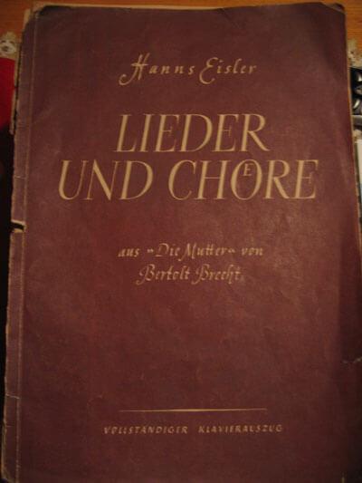 Veröffentlichung aus Buschs Verlag ''Lieder Zeit'' (Privatbesitz Prof. Dr. Eberhard Rebling)