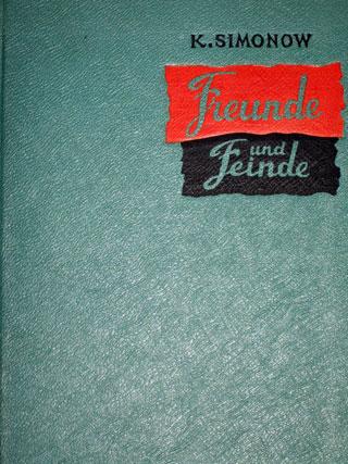 Simonow-Buch von 1950 (ohne Schutzumschlag)