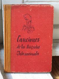 Spanienliederbuch von Ernst Busch (5. Aufl., 1938)