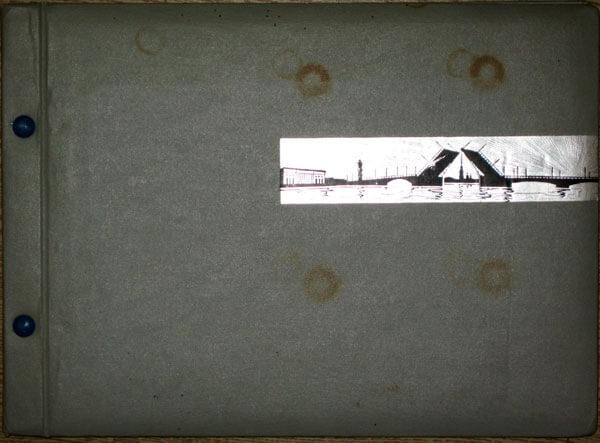Schüler-Album für Ernst Busch (Cover)