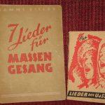 Liederhefte aus den Jahren 1949 und 1947