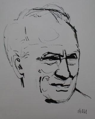 Thomas Marquard: Zeichnung Ernst Busch