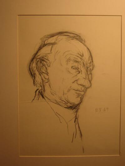 Studie Ernst Busch 1 (Ronald Paris)