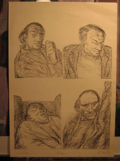 Lithographien Ernst Busch (Ronald Paris)